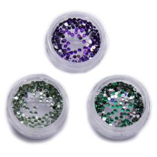 Камни в банке цветные