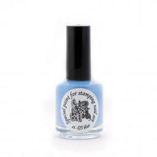 Kраска для стемпинга El Corazon st-03 Голубой