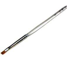 Кисть косая пласт ручка №1