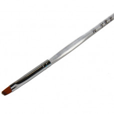 Кисть косая с пластиковой ручкой №2