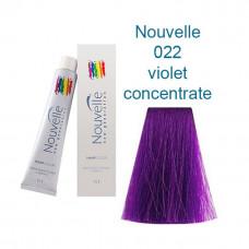 022 фиолетовый 100 ml Краска д/в Nouvelle