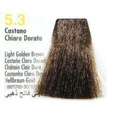 5,3 светло-золот корич 100 мл Nouvelle краска для волос