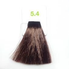 5,4 Светлый медно-каштан 100 мл Nouvelle краска для волос