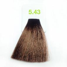 5,43 светло-медный золот-коричн 100 мл Nouvelle краска для волос