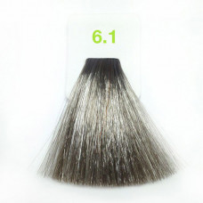 6,1 Тёмно-пепел русый 100 мл Nouvelle краска для волос