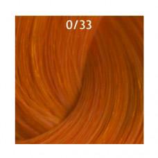 0/33 Жёлтый Крем-краска для волос 60мл Deluxe Estel