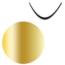 """Ультратонкая наклейка """"Stiker"""" №35 золото"""
