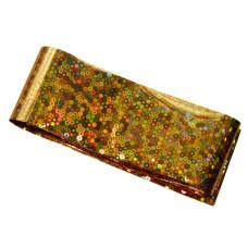 Фольга  для литья золото с конфетти 1 м