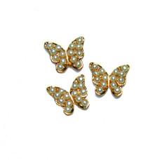 Бабочка с жемчугом