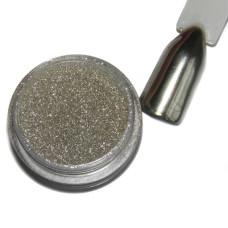 Зеркальный блеск 1 гр №2 серебро GRACE