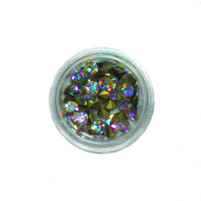 SS19 Crystal AB 4,2 мм - диаметр. Стекло конус