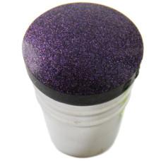 Штамп Premium в металлическом стаканчике черно-фиолетовый