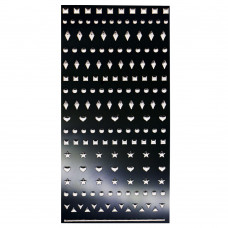 3D слайдер для дизайна ногтей Mirror Jewel - Point Silver