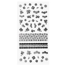 3D слайдер для дизайна ногтей Ultra - thin Water Free Decals  - Roses