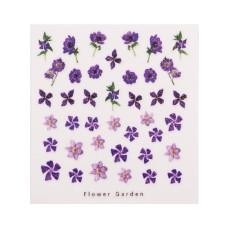 3D слайдер дизайн Design Nail Applique - Flower Garden -Dandy for Love