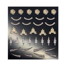 3D слайдер дизайн Shiny Nail Applique - Dazzling Decoration -Jewel Party