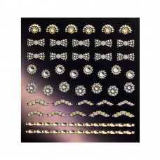 3D слайдер для дизайна ногтей Shiny Nail Applique - Dazzling Decoration  - Fancy Drop
