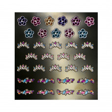 3D слайдер для дизайна ногтей Shiny Nail Applique - Vivid Decoration  - Glass Art