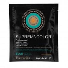 Осветляющий порошок FarmaVita Голубой для плотных волос 30 мл