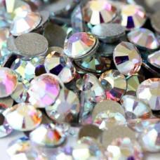 Crystal AB Стразы 1400 шт Mix SS3,4,5,6,8,10