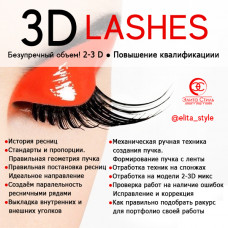 """Курс """"3D Lashes"""""""