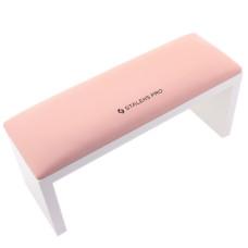 Подлокотник для маникюра на ножках STALEKS Light pink (32*11*15)