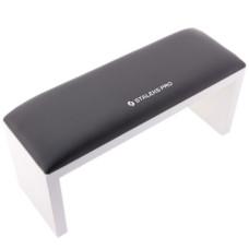 Подлокотник для маникюра на ножках STALEKS Black (32*11*15)