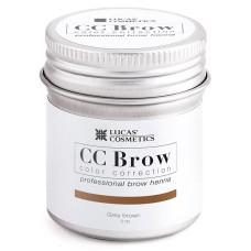 Хна для бровей Серо-коричневый CC Brow в баночке 5 гр