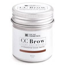 Хна для бровей Коричневый CC Brow в баночке 5 гр