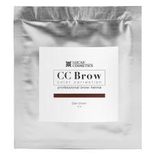 Хна для бровей Темно-коричневый CC Brow в саше 5 гр