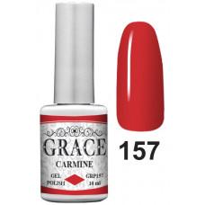 Гель-лак GRACE GRP157 Carmine 10ml