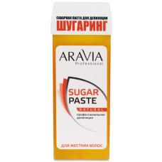 Сахарная паста для депиляции в картридже Натуральная мягкая ARAVIA Professional 150г/20