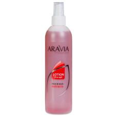 Лосьон для подготовки кожи перед депиляцией Мята и Береза ARAVIA Professional 300мл/16