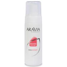 Мусс после депиляции с экстрактом хлопка Aravia Professional 160 мл/16