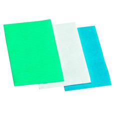 Салфетка для маникюра одноразовая зеленый 45*33 см (50 шт в уп.; 10уп в ящ)