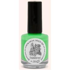 Kраска для стемпинга st-16 Green neon