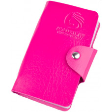 Альбом для стемпинг-пластин розовый