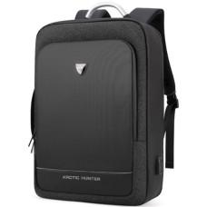 Рюкзак ARCTIC HUNTER для ноутбука 17 дюйма. Черный