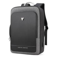 Рюкзак Arctic Hunter для ноутбука 17 дюйма темно-серый