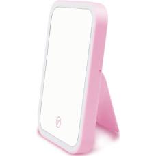 Зеркало с LED подсветкой AVADONA USB. Розовый