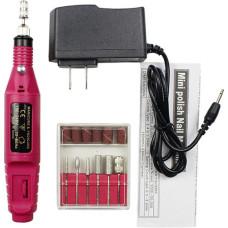 Фрезер-ручка для маникюра Lpnails мини 20000 об/мин розовый