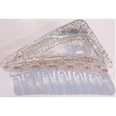 Заколка-краб Avadona с блестками прозрачный
