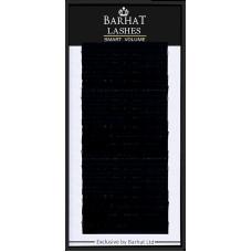 Ресницы для наращивания BARHAT В 0,07мм (11мм)