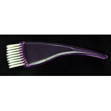 Кисть для окрашивания Avadona изогнутая фиолетовый