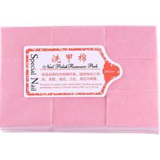 Салфетки безворсовые LPnails 900 шт. Розовые