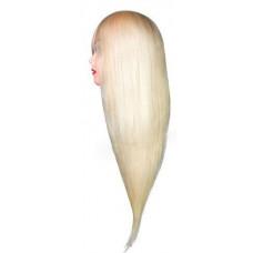 Голова учебная Блонд 60% натуральная