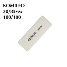 Шлифовщик Komilfo мини белый 100/100
