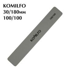 Шлифовщик Komilfo прямоугольный серый 100/100