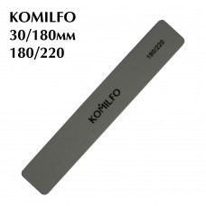 Шлифовщик Komilfo прямоугольный серый 180/220
