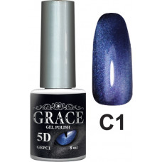 Гель-лак GRACE Cat Eye 5D №1 8 мл